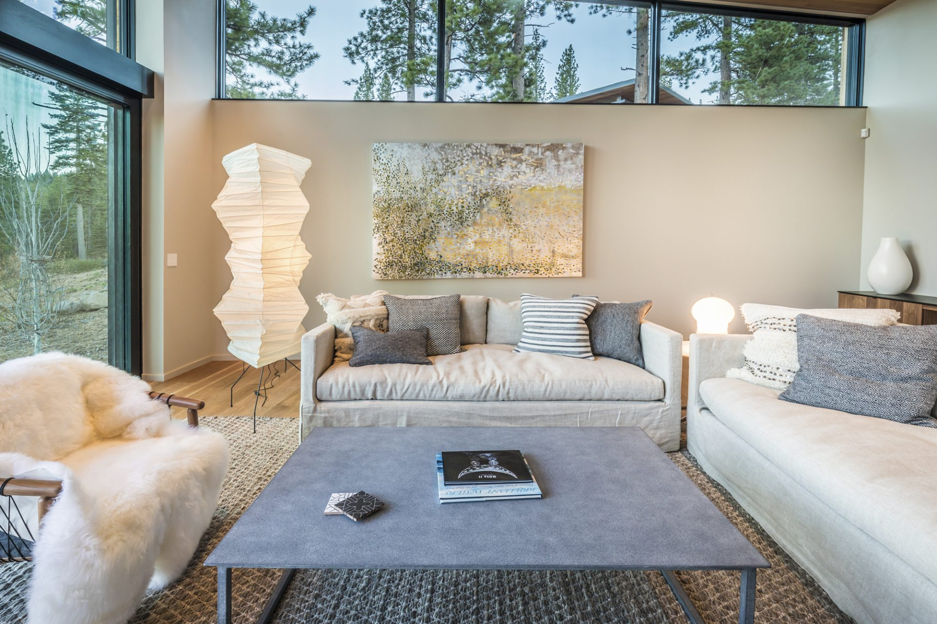 Tahoe Home | Artist: Michelle Sakhai (Photo Credit: Martis Camp Realty)