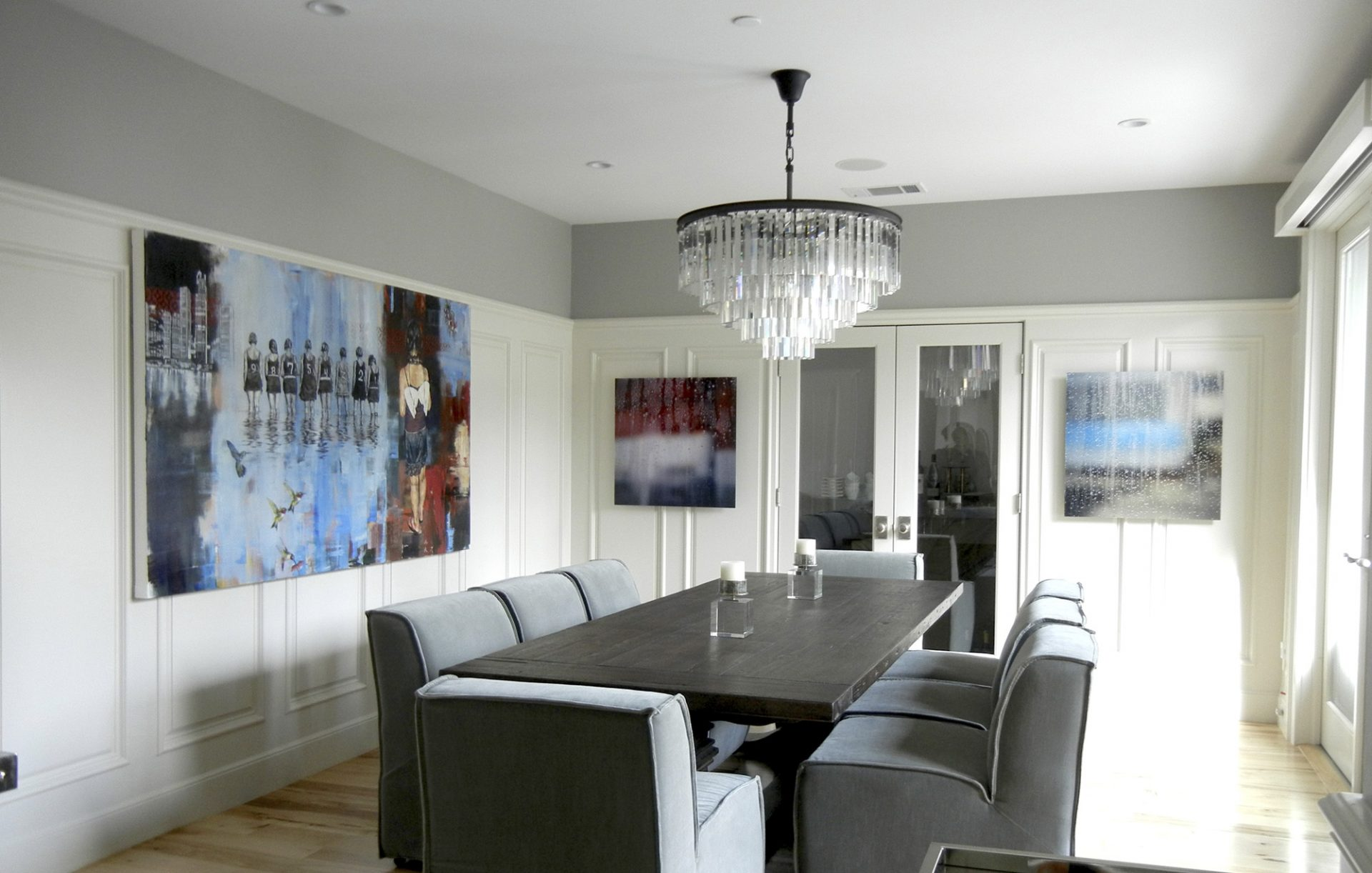 Dining Room, Orinda | Artists: Douglas Schneider, Carol Inez Charney
